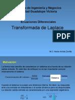 Ecuaciones Diferenciales Transformada de Laplace-Arriola