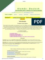 Informações Sobre Cursos de Alemão