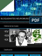 BLOQUEANTES NEUROMUSCULARES