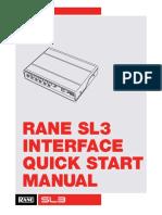 Rane SL3 QSG for Serato DJ