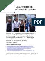 22.06.16 Chayito también aplaude gobierno de Moreno Valle