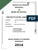 Modelo Del Proyecto Bd