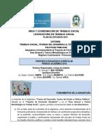 1 Programa de Teo Del Estado - Lic Ts - Fhycs-unju