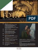 FOTA Newsletter Issue III