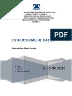 Estructuras de Datos.