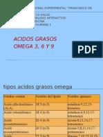 ACIDOS GRASOS OMEGAS 3 6 9