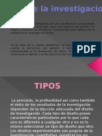 Diseño de La Investigacion. Expo