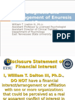 Diagnosis and Management of Enuresis and Encopresis