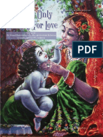 04 Kṛṣṇa is Only Hungry for Love