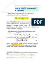 HD 8 Prop Damped Modal Analysis