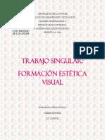 Trabajo Singular de Formacion Estetica Visual