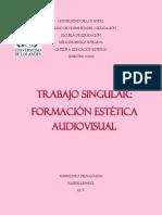 Trabajo Singular de Formacion Estetica Audiovisual