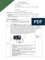 Plan de Lección-Esfigmomanometro