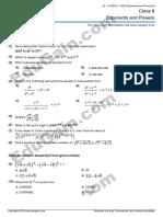 Grade8 worksheet