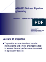04 - Pipeline Flow and Thermal Analysis