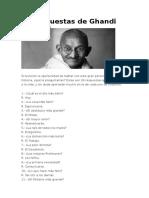 24 Respuestas de Ghandi