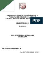 Biología Celular y Molecular practica (UPSJB-2016)