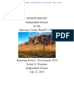Melendres # 1759 Monitor Eighth Quarterly Report