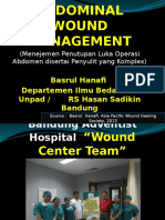 Woundcare Abdominal Wound Manado Final