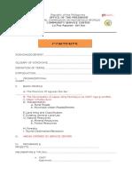 Certificate of Ancestral domain Profile Agusan del Sur DT 117 Com.profl