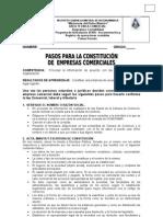 Requisitos Legales Para La Constitucion de Una Empresa
