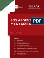 2014 Informe Los Argentinos y La Familia UCA