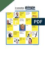 Democrat Bingo 1