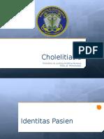 Cholelitiasis ppt