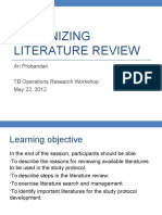 Organizing Literature Review-210512AP