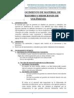 1 Reconocimiento de Material de Laboratorio y Mediciones de Volúmenes