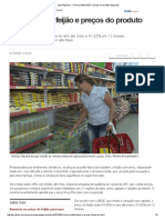 Agronegócios - Clima já afeta feijão e preços do produto disparam.pdf