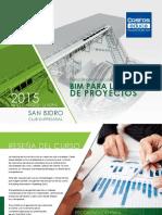 Brochure BIM Para La Gestion de Proyectos