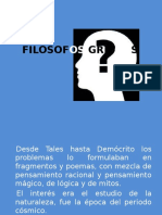 FILOSOFOS GRIEGOS