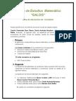 Circulo de Estudios Matemático GALOIS