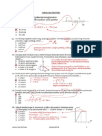 Latihan Soal UAS Fisika 1516