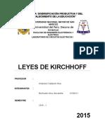 Leyes de Kirchhoff