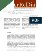 Didática Do Ensino Da Língua Concepções de Linguagem e Práticas Docentes de Leitura e Escrita.