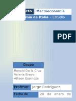 Macroeconomía de Italia
