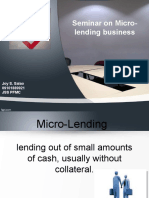 micro-lending business.ppt