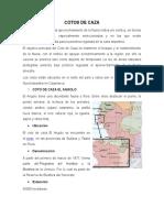 Los Cotos de Caza y Reservas Comunales en Perú