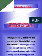Komunikasi Dengan Allah1
