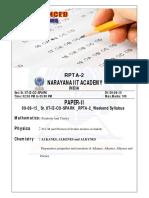 09-08-15 Sr.iit-iz-co-spark Jee Adv Rpta-2 (2013 p2) q'Paper