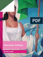 Primaria Quinto Grado Educación Artística Libro de Texto