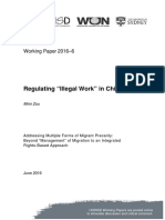 "Regulating ""Illegal Work"" in China"