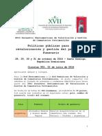 Circular 002 Ponentes y Resúmenes Aceptados XVII Encuentro Iberoamericano