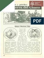 La Guerra del Chaco, Nacionalismo y Petroleo de Nelson Martínez Diáz