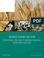 Food sector in india by analyst.pdf