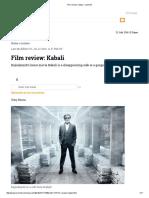 Film Review_ Kabali - Livemint