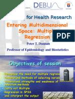 Multiple Regression (1)
