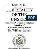 William James-The Reality of the Unseen